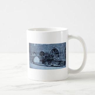 Gancho de los años 20 del vintage y compañía de bo taza básica blanca