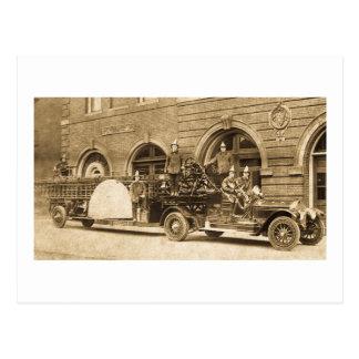 Gancho de los años 20 del vintage y compañía de postal