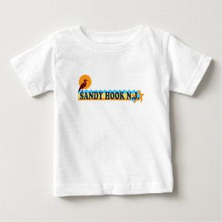 Gancho de Sandy Playera De Bebé