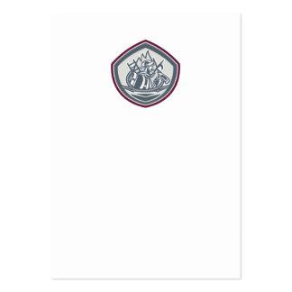 Gancho Pike poste Shield png de la manguera del ha Plantilla De Tarjeta Personal