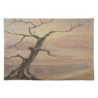 Gancho Placemat del árbol del desierto Mantel Individual