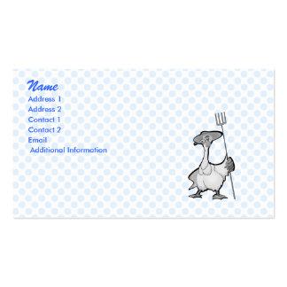 Gancy Goose Business Card