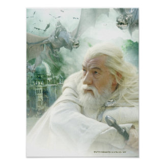 Gandalf and the Witchking Poster