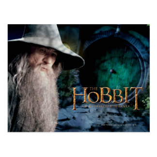 Gandalf at BILBO BAGGIN™'s House Postcard
