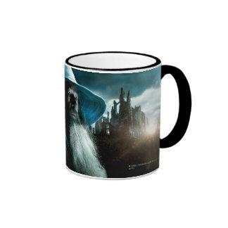 Gandalf at Dol Guldur Ringer Coffee Mug