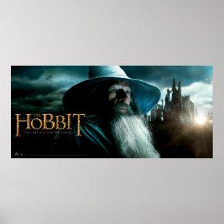 Gandalf at Dol Guldur Print
