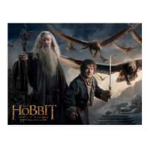 Gandalf, BILBO BAGGINS™, & The Great Eagles Postcard