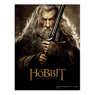 Gandalf Character Poster 1 Postcard