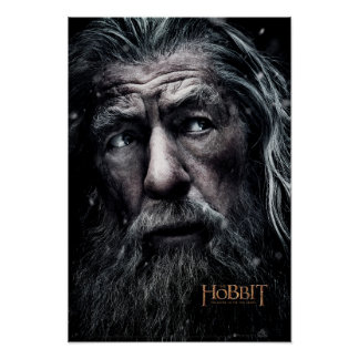 Gandalf Close Up Poster