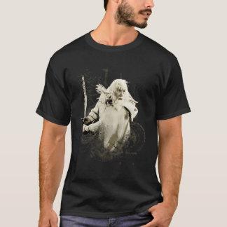 Gandalf con collage del vector de la espada playera