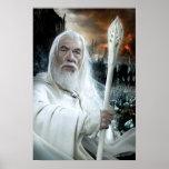 Gandalf con el personal posters