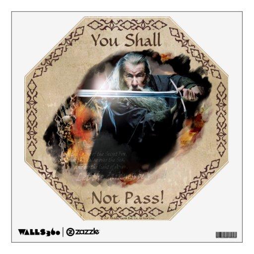 Gandalf con la espada