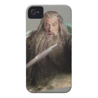 Gandalf con la espada iPhone 4 Case-Mate cárcasa