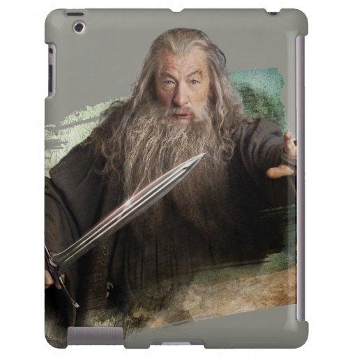 Gandalf con la espada funda para iPad