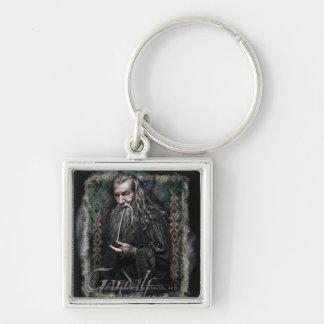 Gandalf con nombre llaveros personalizados