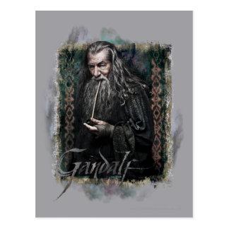 Gandalf con nombre tarjetas postales