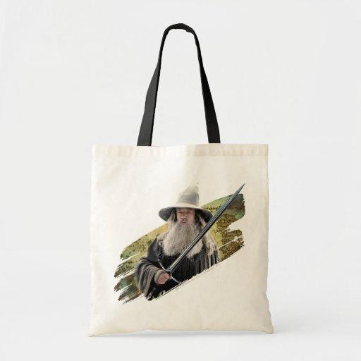 Gandalf con verde de la espada bolsa tela barata