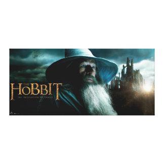 Gandalf en Dol Guldur Impresión De Lienzo