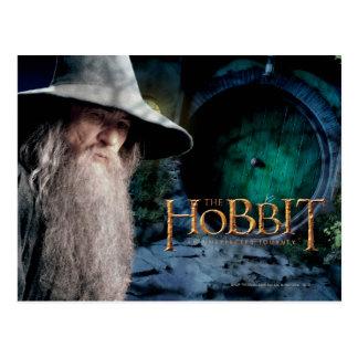 Gandalf en la casa de BILBO BAGGIN™ Postales
