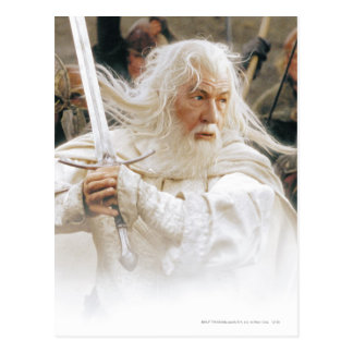 Gandalf Fight with Sword Postcard