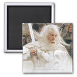 Gandalf Fight with Sword Refrigerator Magnet