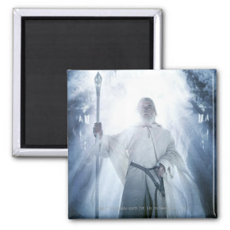 Gandalf Glowing 2 Inch Square Magnet