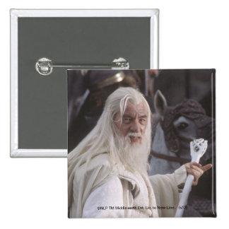 Gandalf Holds Staff Button