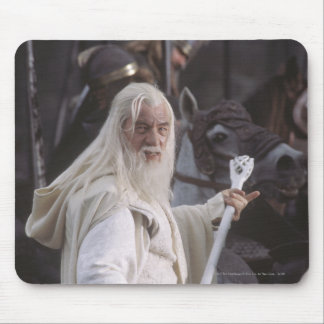 Gandalf Holds Staff Mouse Pad
