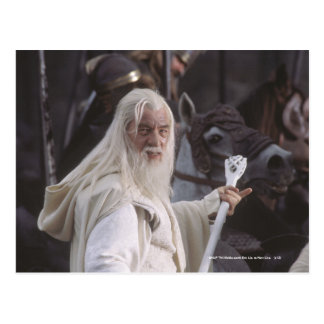 Gandalf Holds Staff Postcards