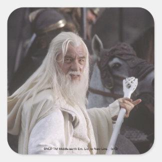 Gandalf Holds Staff Sticker