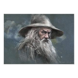 Gandalf Illustration Card