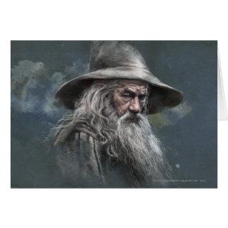Gandalf Illustration Greeting Card