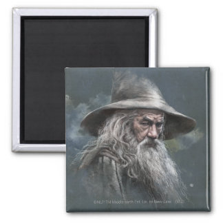 Gandalf Illustration Magnet