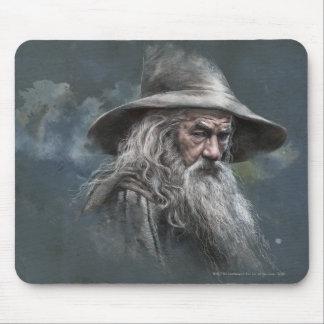 Gandalf Illustration Mouse Pads