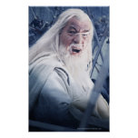 Gandalf In Battle Poster
