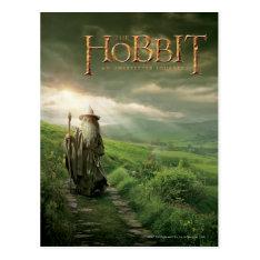 Gandalf In SHIRE™ Postcard at Zazzle