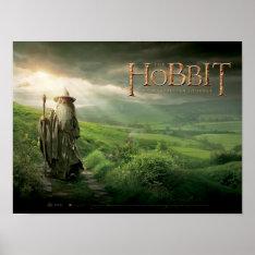 Gandalf In SHIRE™ Poster at Zazzle