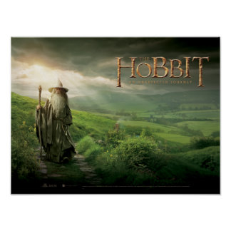 Gandalf In SHIRE™ Poster