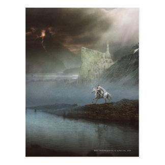Gandalf lleva Hobbits la ciudad guardada Postales