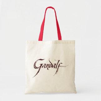Gandalf Name Solid Budget Tote Bag