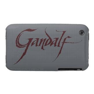 Gandalf Name Solid Case-Mate iPhone 3 Case