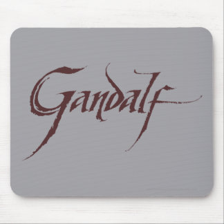 Gandalf Name Solid Mouse Pad