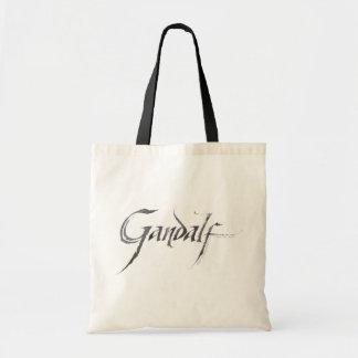 Gandalf Name Textured Budget Tote Bag