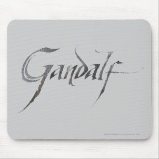 Gandalf Name Textured Mouse Pad