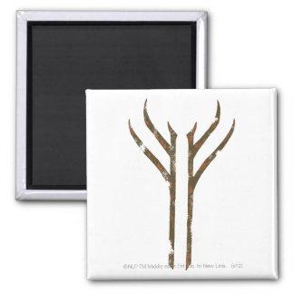 Gandalf Rune 2 Inch Square Magnet