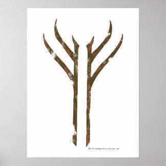 Gandalf Rune Poster