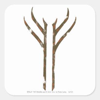 Gandalf Rune Square Sticker