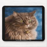 Gandalf - Silver Tabby Cat Art Mousemat
