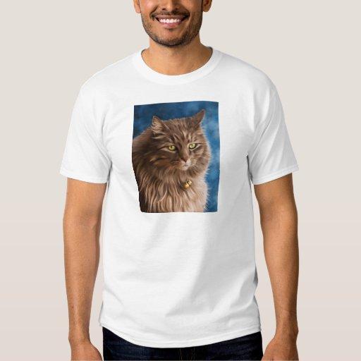 Gandalf - Silver Tabby Cat Art T-shirts