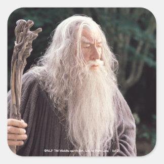 Gandalf Standing Square Stickers